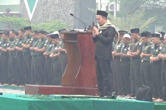 Kodam Tanjungpura gelar salat istisqa