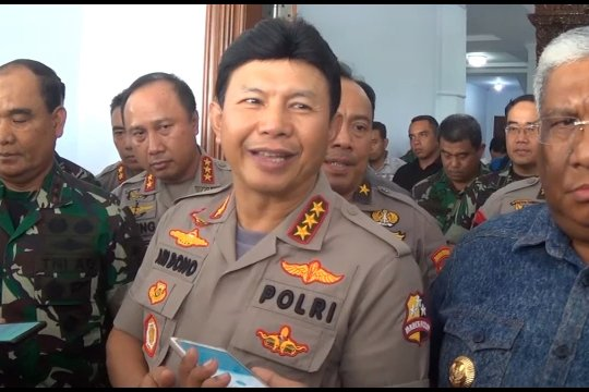 Mabes Polri kumpulkan senjata pengamanan aksi demonstrasi