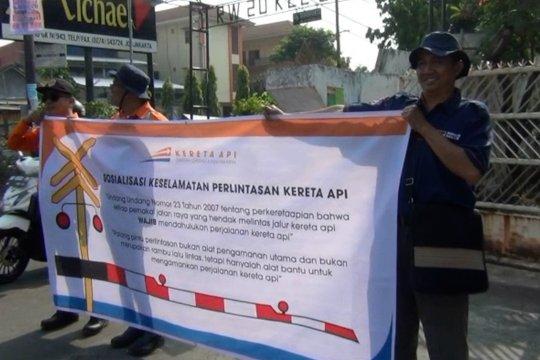 PT KAI tegakkan hukum di perlintasan sebidang Yogyakarta