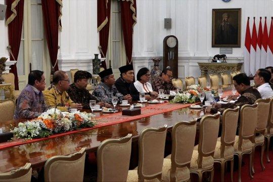 Tokoh agama bertemu Jokowi bahas karhutla hingga demonstrasi mahasiswa