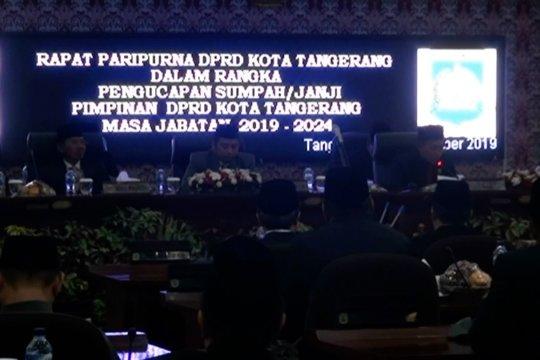 DPRD Kota Tangerang resmi miliki pimpinan baru