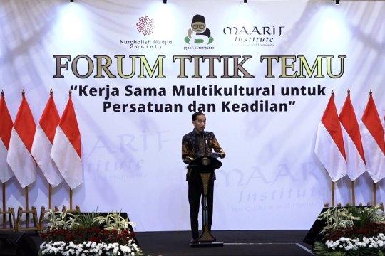 Presiden tekankan kemajemukan dan toleransi kunci keberhasilan negara