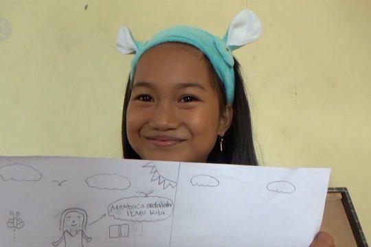 Taman baca bagi anak-anak penyintas gempa Palu