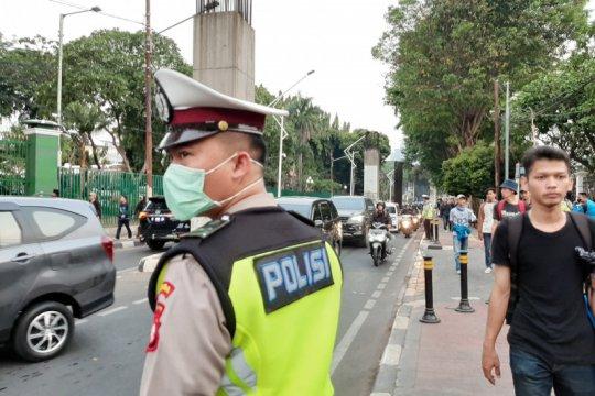 Jalan Gelora sudah normal usai pelantikan DPR dan aksi mahasiswa