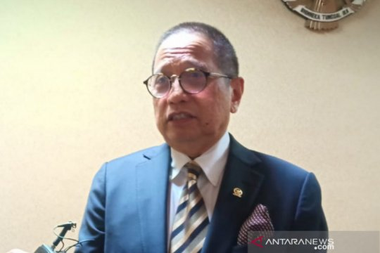 Pesan Dito Ganinduto kepada anggota DPR muda, jauhi korupsi
