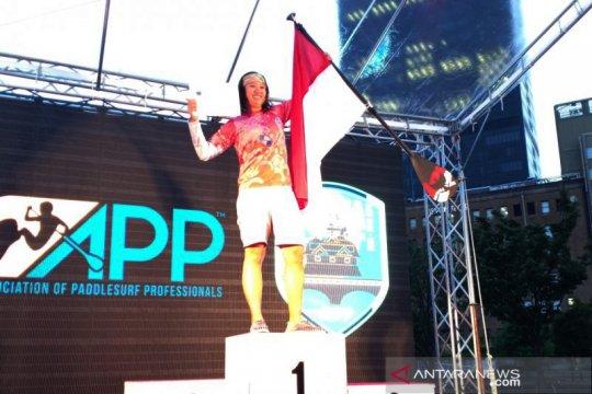 Didukung BPJS-TK atlet SUP Indonesia juara di Osaka