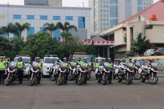 Hari ini 1.472 Polantas disiagakan untuk atur kelancaran lalu lintas