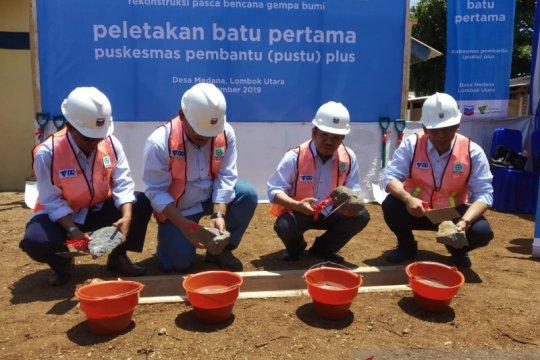 Chevron-Dompet Dhuafa membangun puskesmas di Lombok Utara