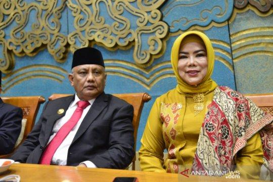 Gubernur minta anggota DPR dan DPD asal Gorontalo berikan yang terbaik