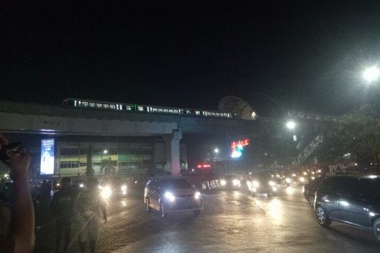 Kota Palembang kembali diselimuti asap