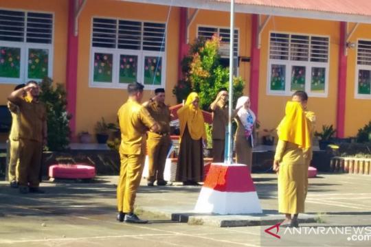 Sekolah di wilayah perbatasan peringati Hari Kesaktian Pancasila