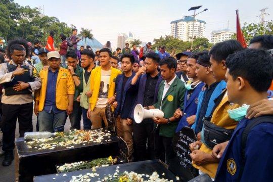 Mahasiswa sebut aksi mengawal DPR untuk tuntaskan agenda reformasi