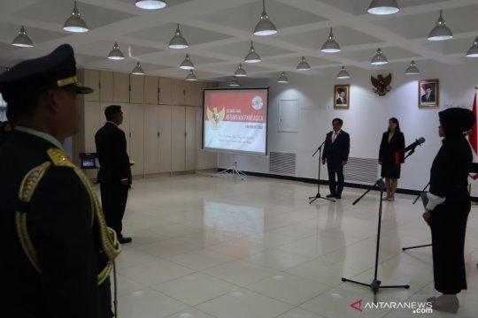 Upacara Kesaktian Pancasila KBRI Beijing digelar sore hari