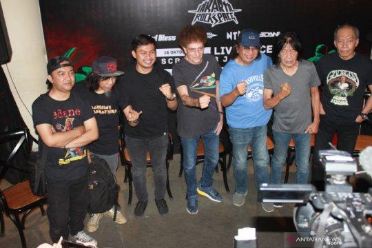 Jakarta Rock Space hadirkan Godbless, Edane, hingga Jamrud