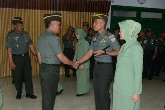 Gubernur Akmil: Kenaikan pangkat tingkatkan profesionalisme prajurit