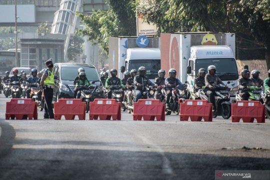 Pelantikan anggota DPR, ada pengalihan arus lalu lintas di sekitar komplek parlemen