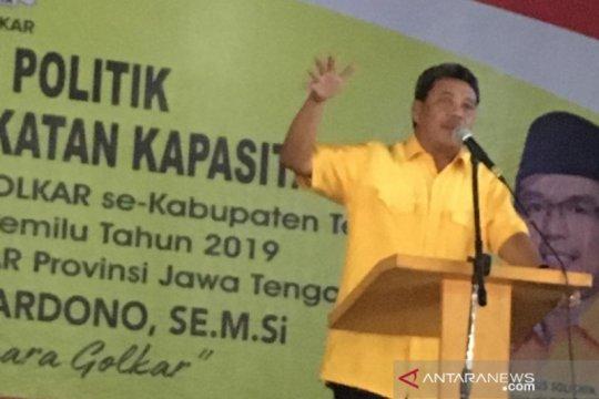 Trikarya dinilai tepat dukung Airlangga sebagai ketua umum