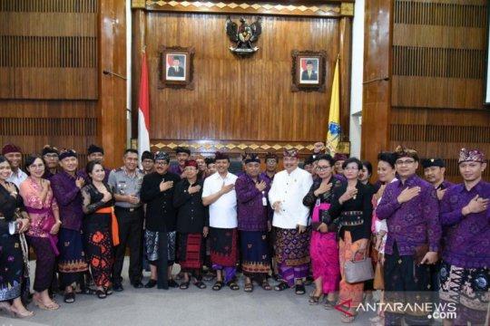 Penandatanganan NPHD Pilkada 2020 di Bali dilaksanakan serentak