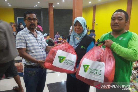 Papua Terkini - Dompet Dhuafa berikan bantuan pengungsi IKM di Papua