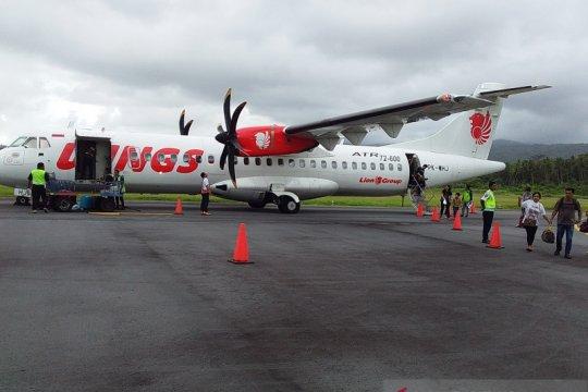 Penerbangan terakhir Wings Naha-Samratulangi penuh penumpang