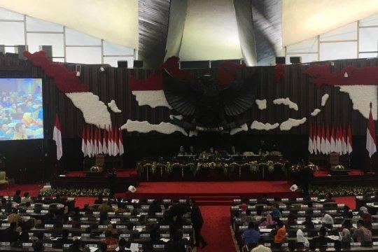 Sidang Paripurna III belum putuskan nama ketua MPR periode 2019-2024