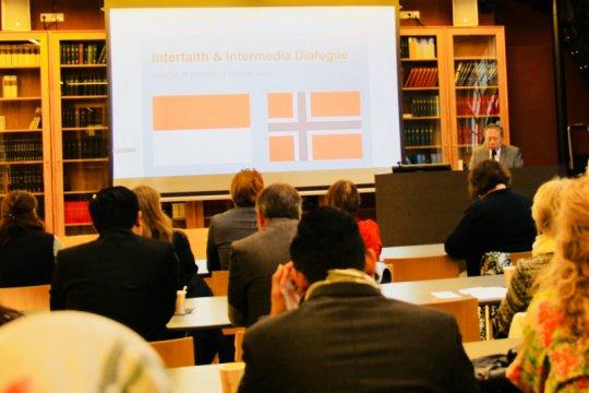 Indonesia-Norwegia gelar dialog lintas agama dan media
