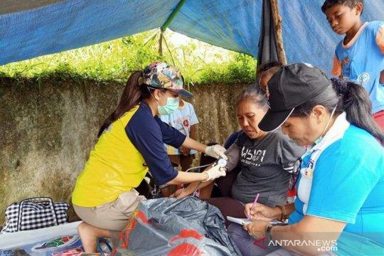 Sudah 2.565 korban gempa dilayani di posko kesehatan Ambon