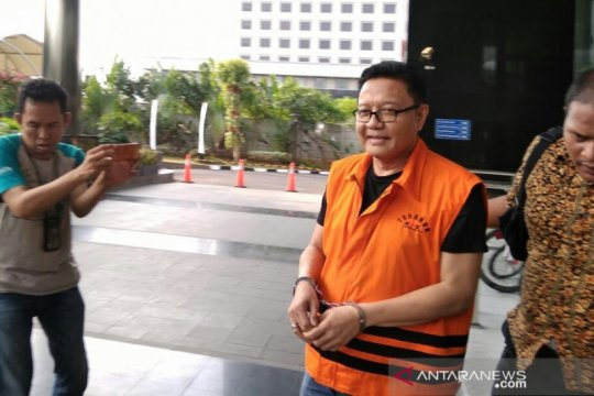 KPK perpanjang penahanan politikus PDIP Nyoman Dhamantra