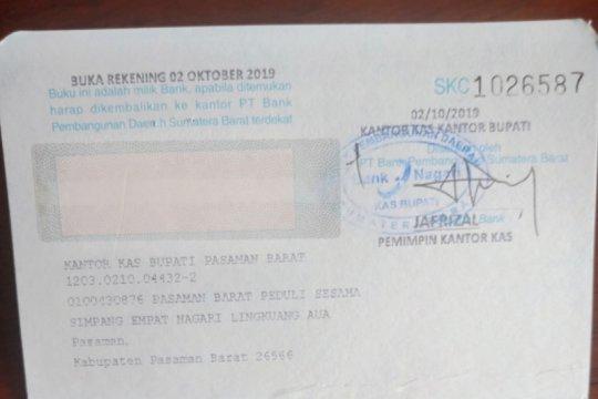 Pemkab Pasaman Barat buka rekening khusus bantu perantau di Wamena