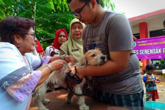 Sudin KPKP Jakarta Pusat lampaui target vaksin rabies
