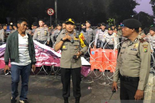 Blokade Jalan Medan Merdeka Barat segera dibuka usai demonstrasi