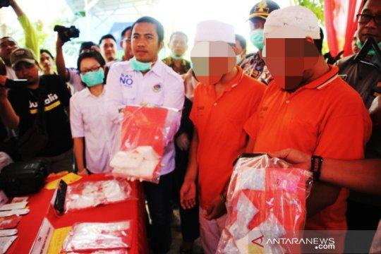 Satresnarkoba Banjarmasin musnahkan ribuan gram sabu-sabu dan ekstasi