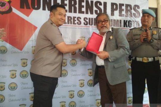 Polisi Sukabumi serahkan puluhan pelajar ke BBN untuk direhabilitasi