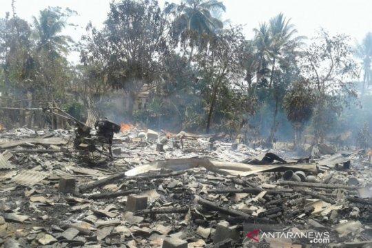 Kebakaran di Sukabumi tewaskan penghuni rumah