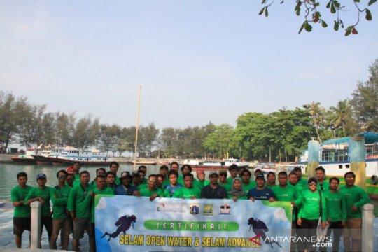 30 pemuda dilatih keterampilan selam di Kepulauan Seribu