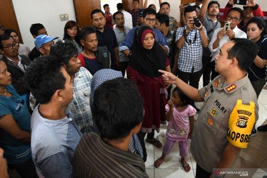 Polisi pulangkan siswa yang akan ikut unjukrasa