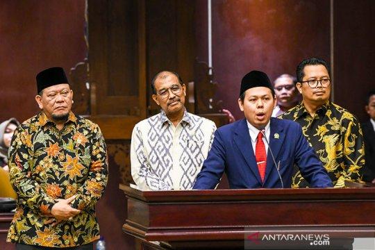 Ada empat nama calon pimpinan MPR dari Kelompok DPD RI