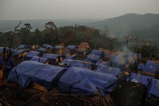 Kemensos salurkan bantuan kepada warga Badui korban kebakaran