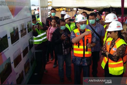 Menteri BUMN minta pembangunan Bandara Jenderal Besar Soedirman 24 jam