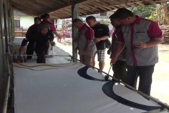 Batik Ciprat karya penyandang disabilitas Magetan laku di pasaran