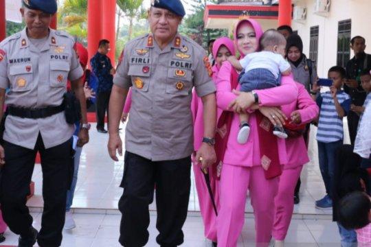 Kapolda Sumsel jamin keluarga Brimob yang BKO
