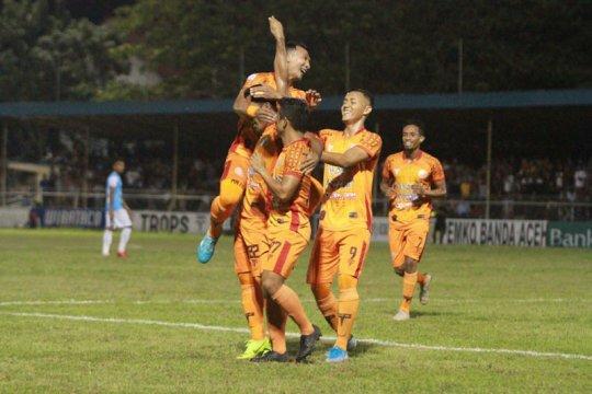 Persiraja kalahkan Babel United 4-1