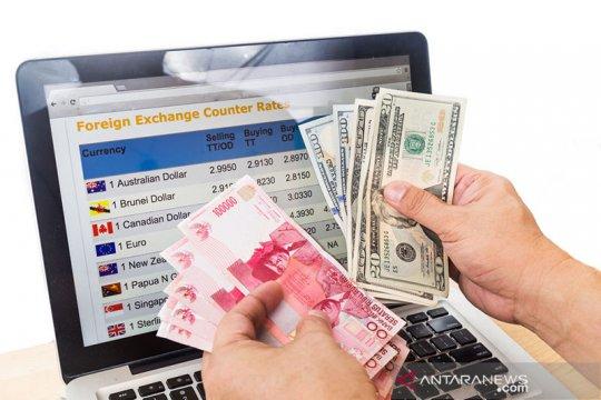 Rupiah menguat tipis pascaintervensi Bank Indonesia