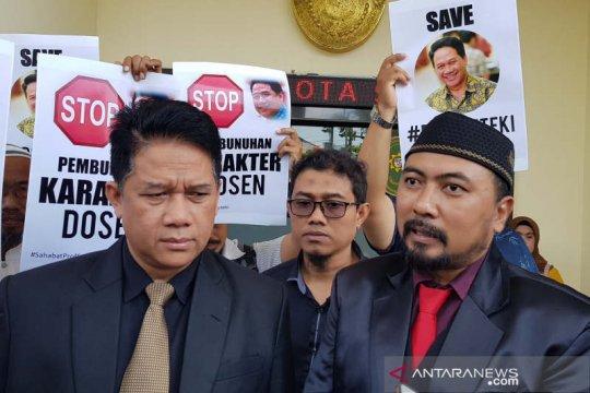 Prof Suteki: Jawaban gugatan Rektor Undip kurang santun