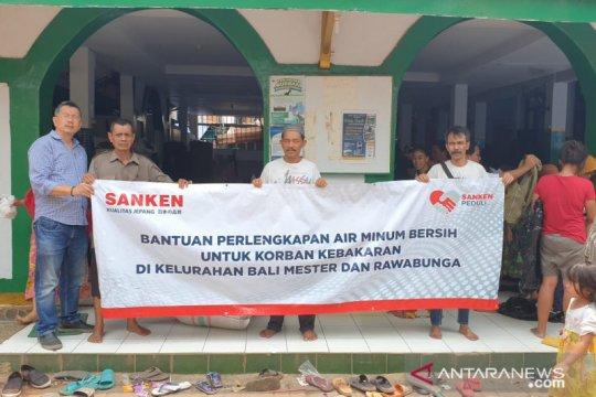 Korban kebakaran Rawabunga Jakarta Timur kesulitan air bersih