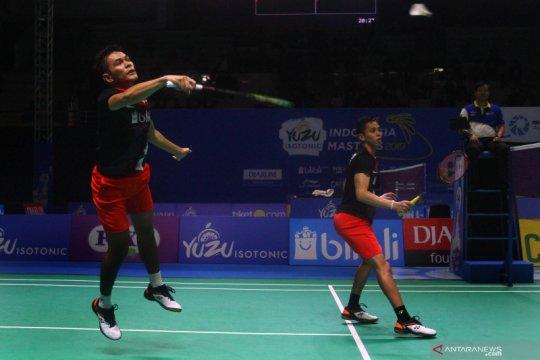 Fajar/Rian tersungkur pada babak pertama French Open