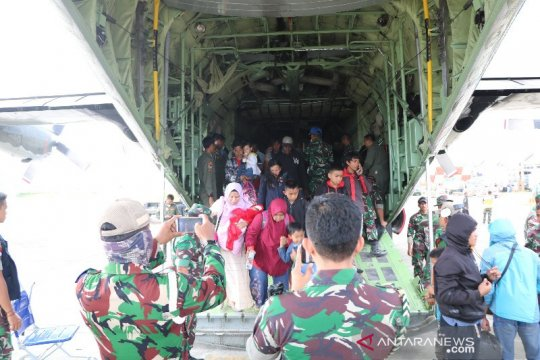 8.000 lebih warga mengungsi dari Wamena ke Jayapura