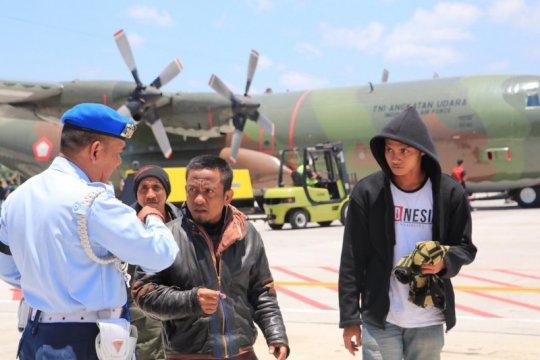 64 warga yang tinggal di Wamena, kini transit di Bali