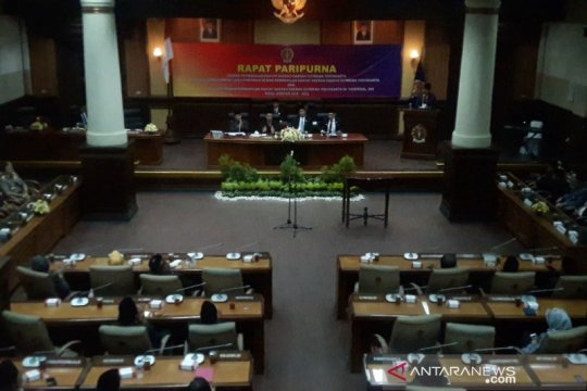 PDIP-PKS-PAN-Gerindra resmi pimpin DPRD DIY