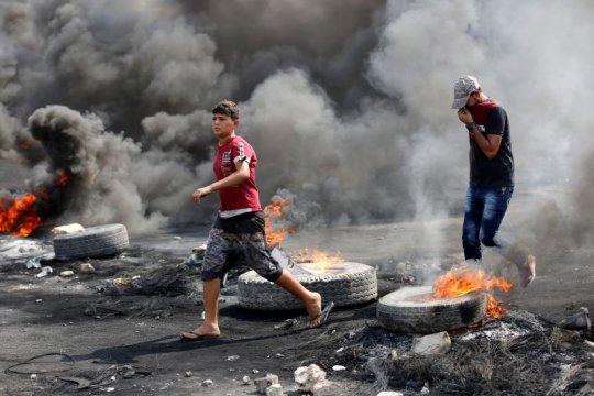 Menlu AS desak PM Irak tangani keluhan pemrotes